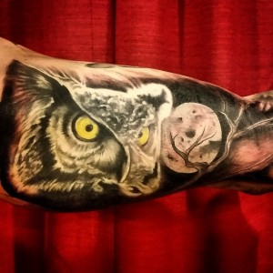 Roger Daye Tattoo